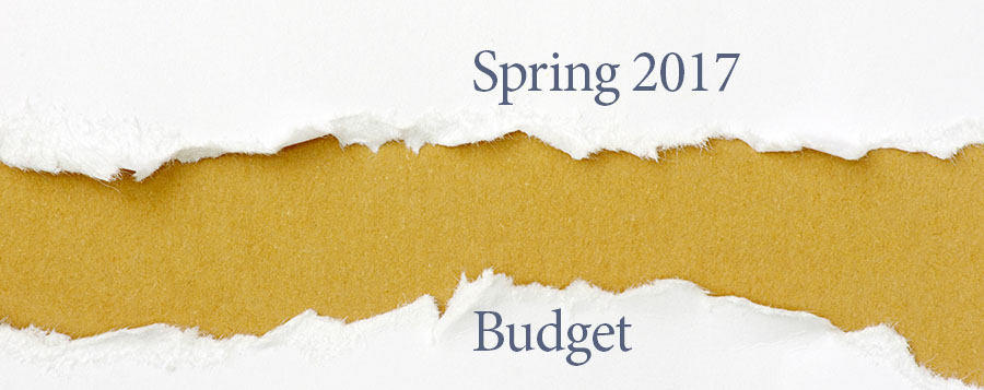 Spring budget proposals will not now become law