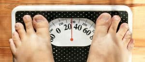 Life expectancy in the UK is to improving as rapidly as predicted - obesity is part of the problem.