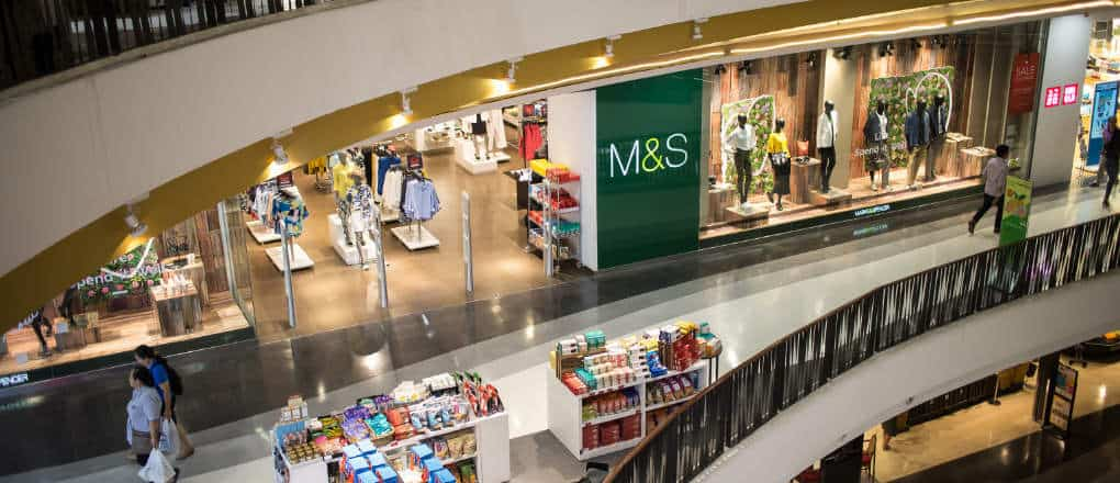 Marks and Spencer shares dropped out of the FTSE 100