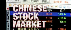The Chinese stock market is at a recent high
