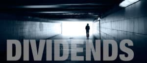 Dividend payments - light in the tunnel?